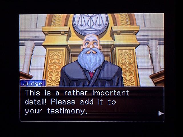 逆転裁判 北米版 オジサンの証言25