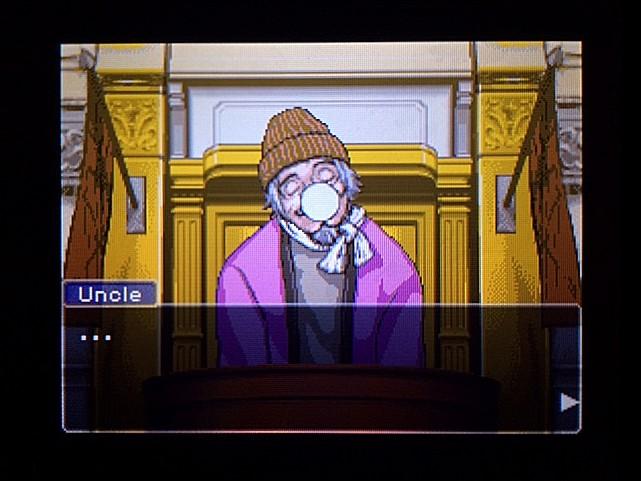 逆転裁判 北米版 オジサンの証言26