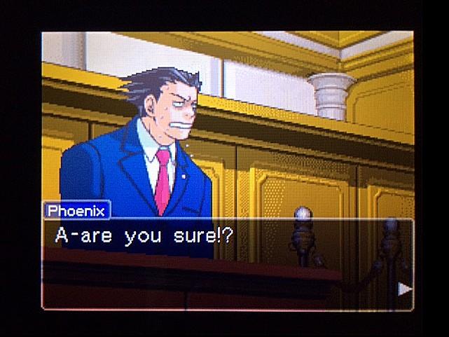 逆転裁判 北米版 オジサンの証言30