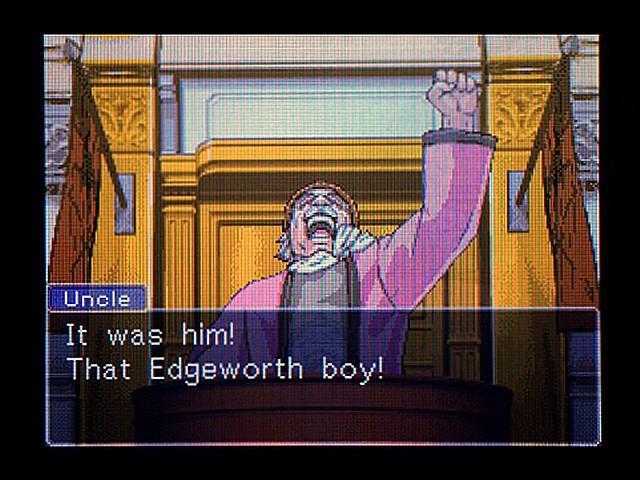 逆転裁判 北米版 オジサンの証言37