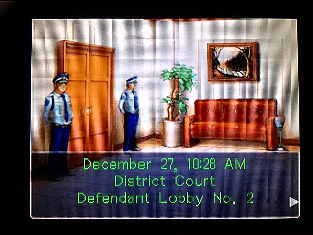 逆転裁判 北米版 ラリーは何を証言するつもりなのか?1