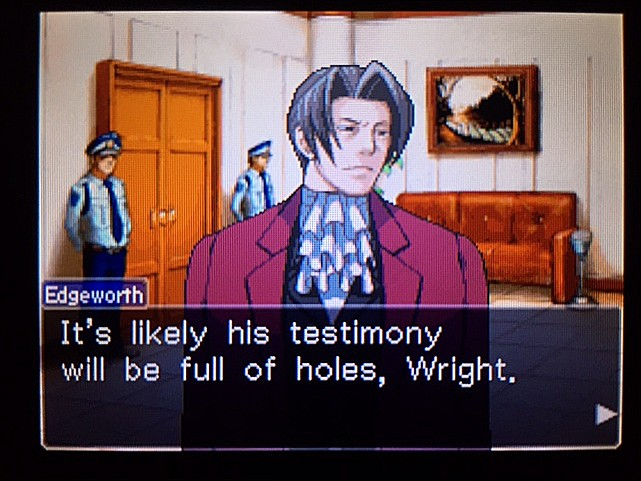 逆転裁判 北米版 ラリーは何を証言するつもりなのか?31