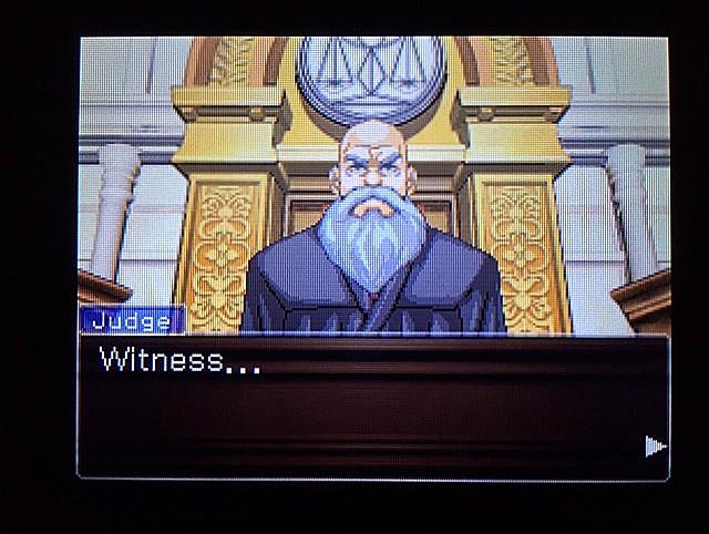 逆転裁判 北米版 ラリーの証言スタート3