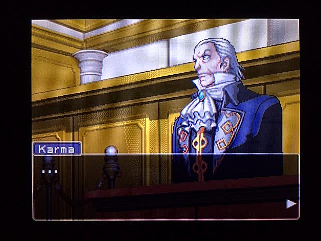 逆転裁判 北米版 ラリーの証言スタート6