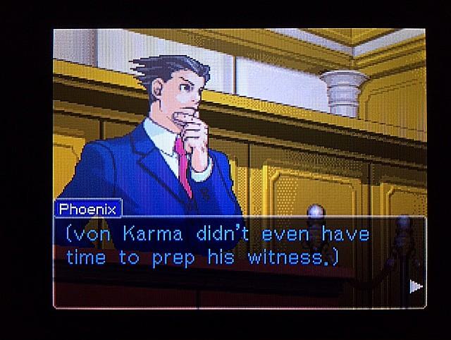 逆転裁判 北米版 ラリーの証言スタート7