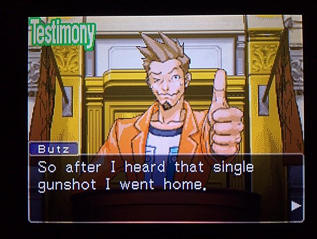 逆転裁判 北米版 ラリーの証言スタート12