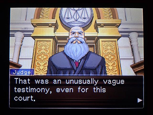逆転裁判 北米版 ラリーの証言スタート14