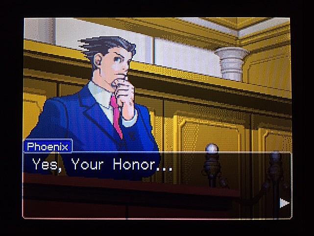逆転裁判 北米版 ラリーの証言スタート16