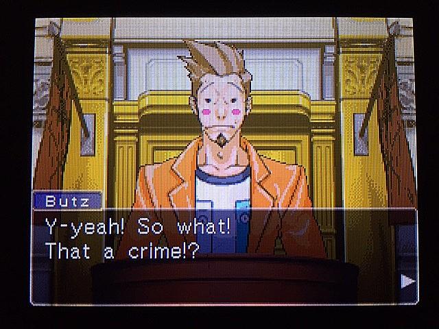 逆転裁判 北米版 ラリー・バッツの証言?続き3