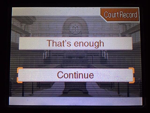 逆転裁判 北米版 ラリー・バッツの証言?続き8