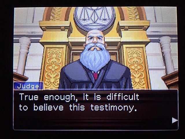逆転裁判 北米版 ラリー・バッツの証言?続き26