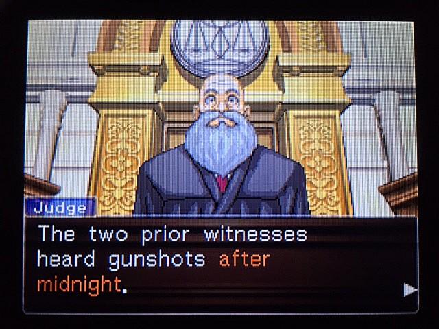 逆転裁判 北米版 イヴの銃声の証拠2