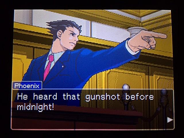 逆転裁判 北米版 イヴの銃声の証拠11