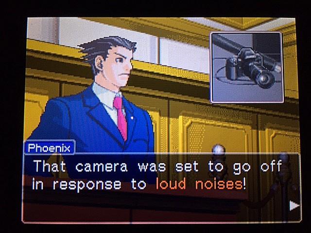 逆転裁判 北米版 イヴの銃声の証拠23
