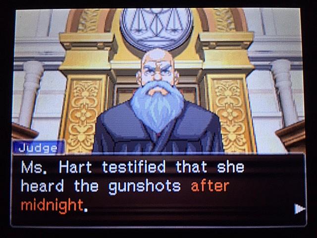 逆転裁判 北米版 イヴの銃声の証拠28