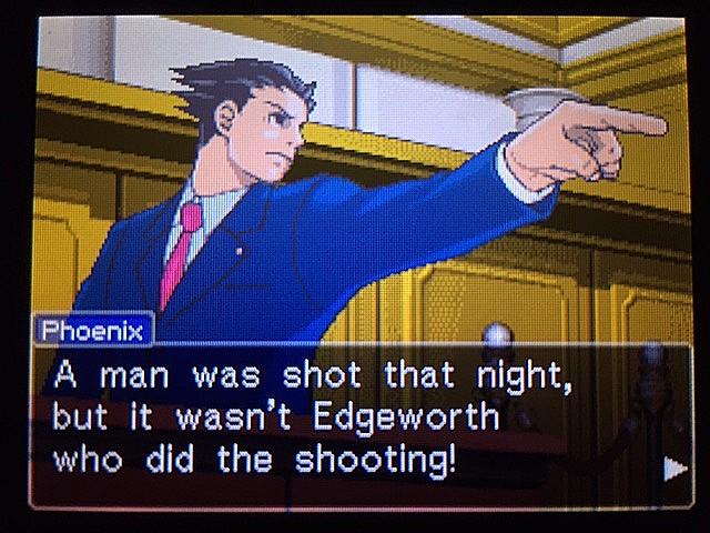 逆転裁判 北米版 最初の銃声の意味16