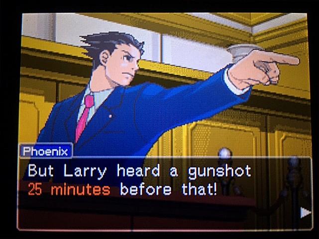逆転裁判 北米版 最初の銃声の意味31