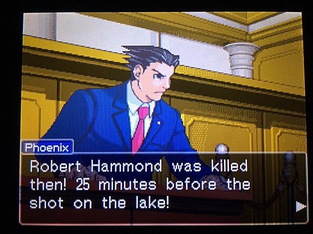 逆転裁判 北米版 最初の銃声の意味32