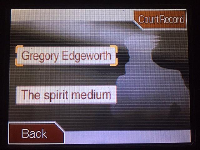 逆転裁判 北米版 グレゴリー・エッジワース2