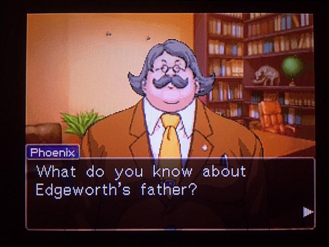 逆転裁判 北米版 グレゴリー・エッジワース3