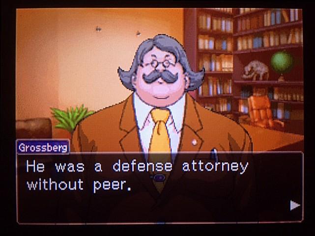 逆転裁判 北米版 グレゴリー・エッジワース5