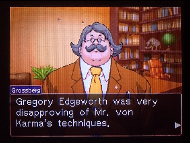 逆転裁判 北米版 グレゴリー・エッジワース8