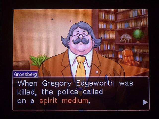 逆転裁判 北米版 グレゴリー・エッジワース14