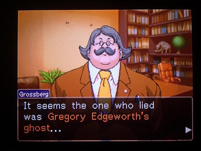 逆転裁判 北米版 グレゴリー・エッジワース20
