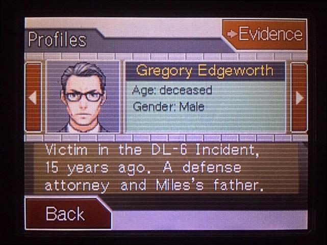 逆転裁判 北米版 グレゴリー・エッジワース24