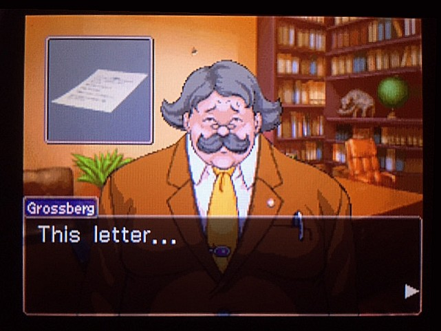 逆転裁判 北米版 金庫の中の手紙の書き手とは…14