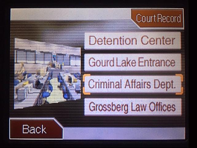 逆転裁判 北米版 DL-6資料捜索へ5