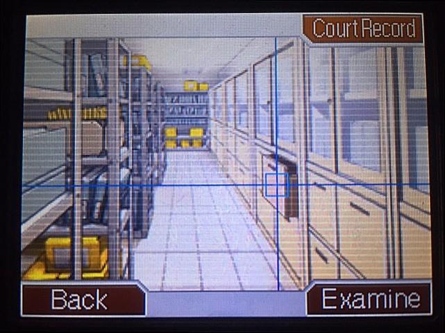 逆転裁判 北米版 記録保管室、フォン・カルマと対峙1