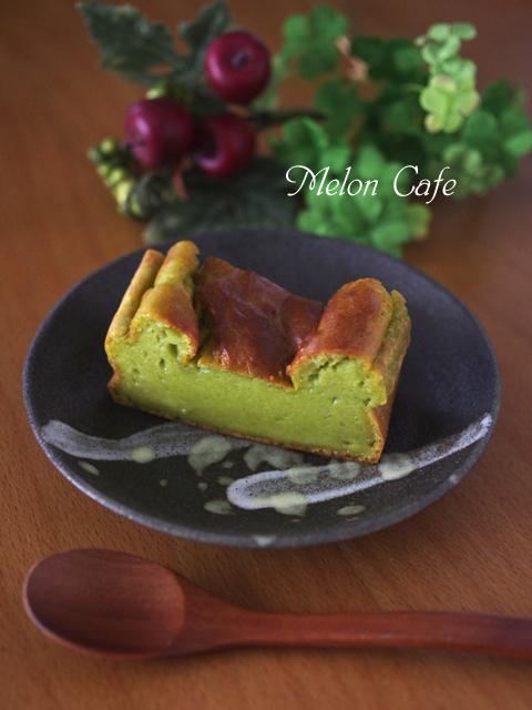 アボカドとりんごでチーズケーキみたいな豆乳ケーキ
