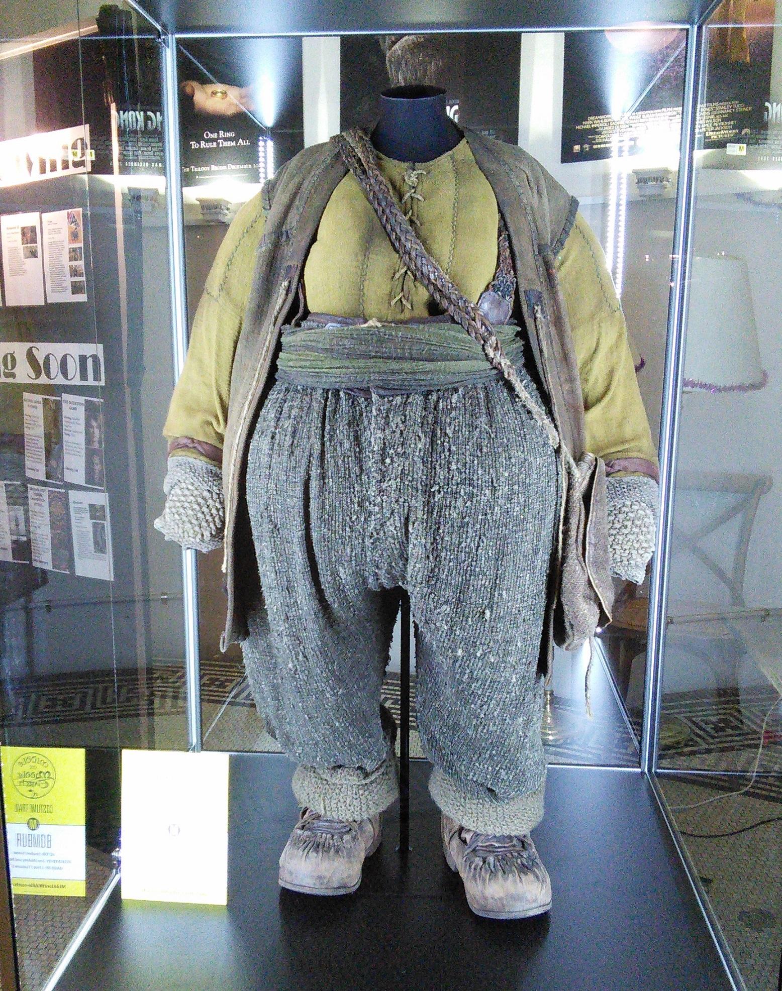 ニュージーランド旅行 '14 ウェリントンで映画『ホビット』の衣装探し編