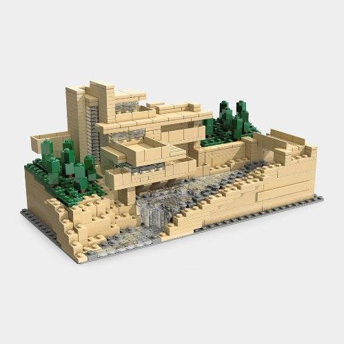 レゴ アーキテクチャー,カウフマンズ邸・落水荘 LEGO(R),2008