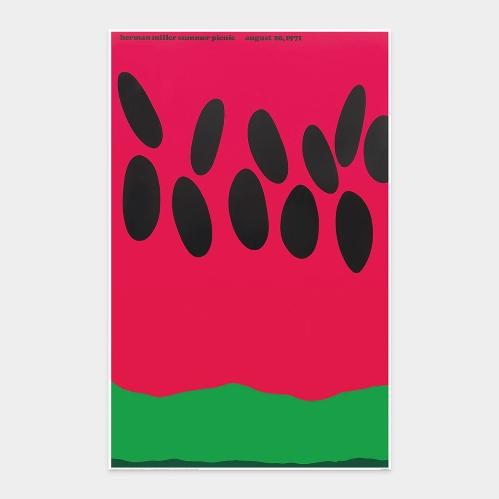 フリックホルム:Herman Miller Summer Picnic 1971 ミニポスター
