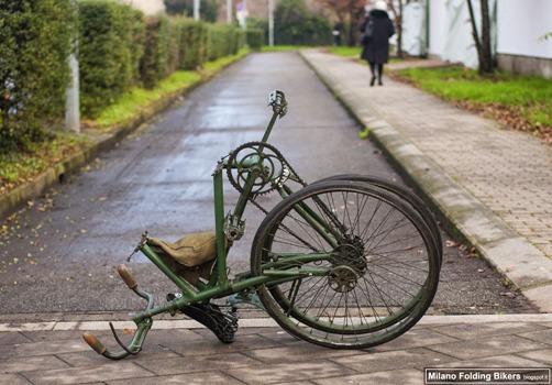 military folding bike 14