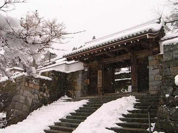 三千院の雪景色