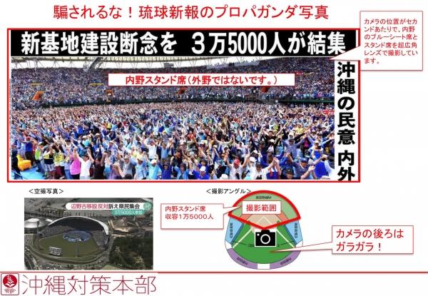 20150525 騙されるな!琉球新報のプロパガンダ