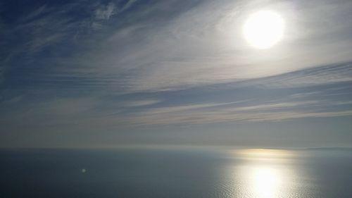 弥彦から眺める海