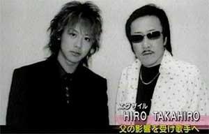TAKAHIROの父親