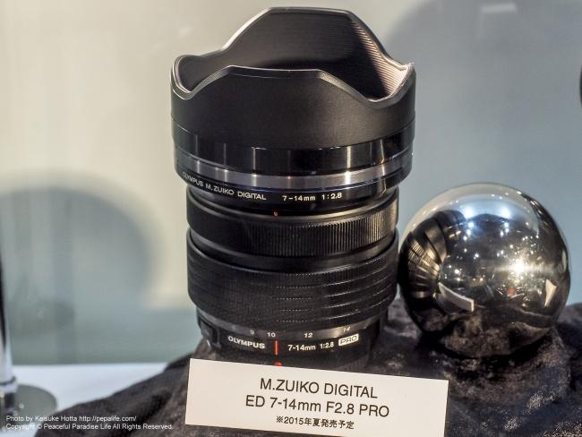 CP+2015 オリンパスM.ZUIKO DIGITAL ED 7-14mm F2.8 PRO