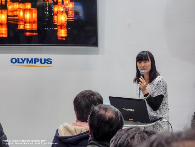 CP+2015 オリンパス フォトジャーナリスト安田菜津紀さんの講演