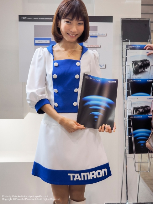 CP+2015 タムロンのイベントコンパニオンさん3