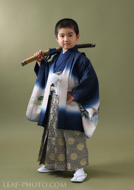 七五三レンタル 5歳 正絹着物
