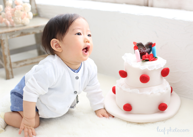 1才誕生日 バースデーフォト