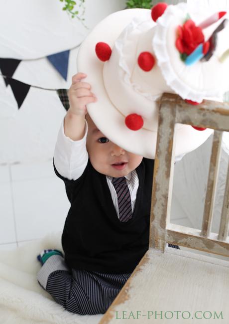 ベビーフォト お誕生日のお祝い撮影