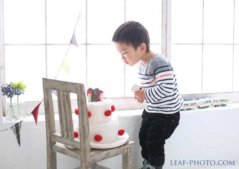 ベビー キッズフォト 2歳誕生日記念写真