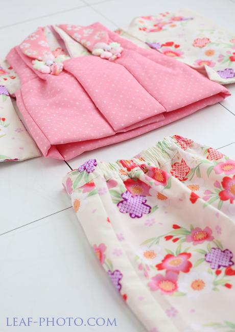 桃の節句 初節句 ピンク お着物