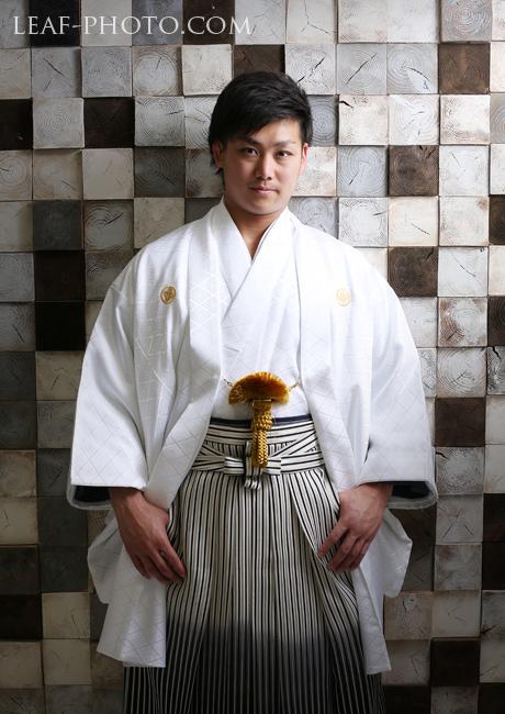 成人式 男性 羽織袴 ラグビー